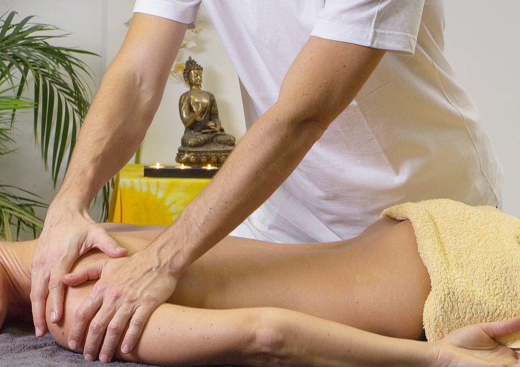 Symbolbild Massage