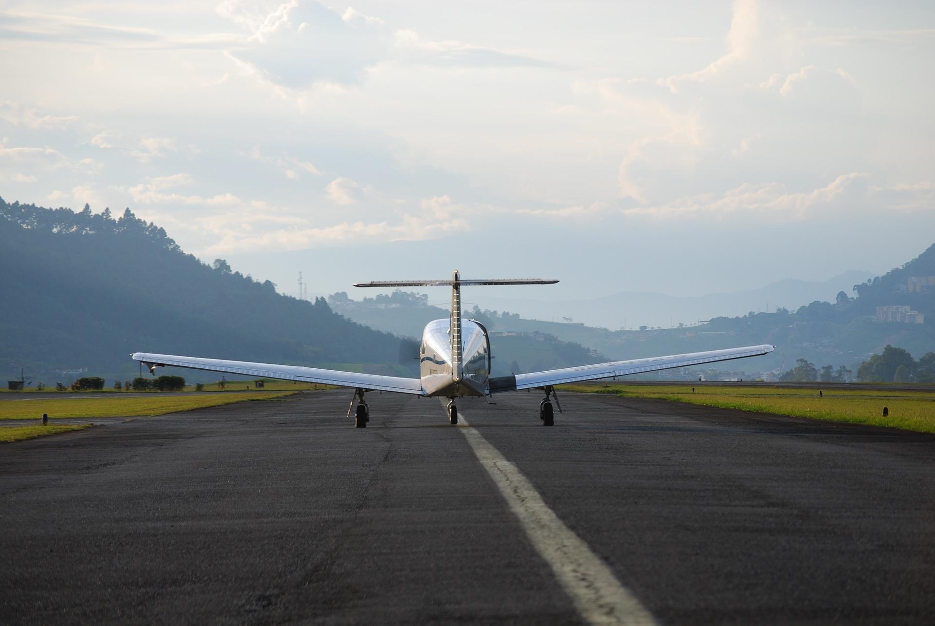 Symbolbild Flugplatz
