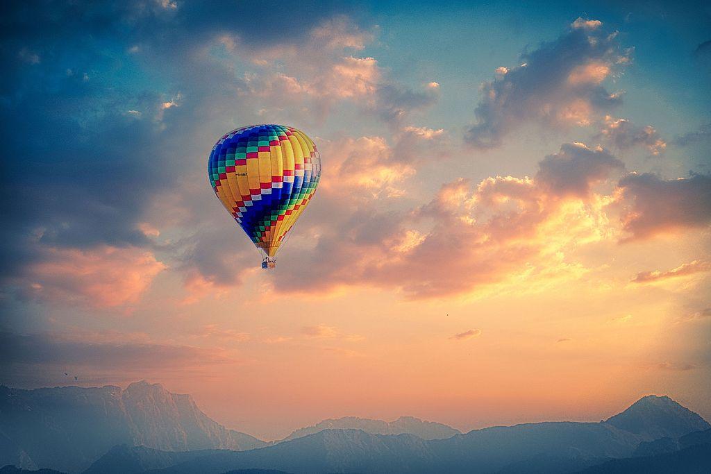 Symbolbild Ballonfahrt