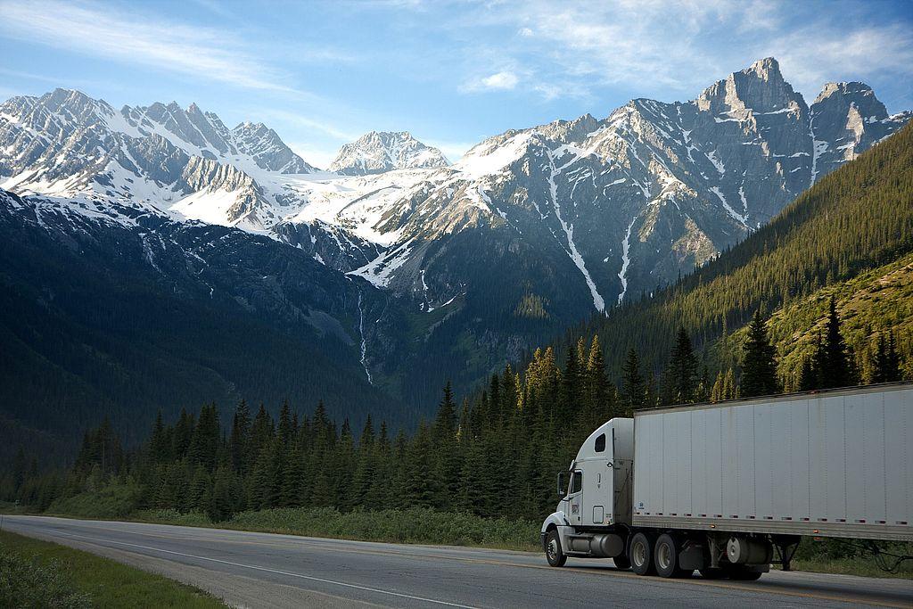 Symbolbild Güterkraftverkehr