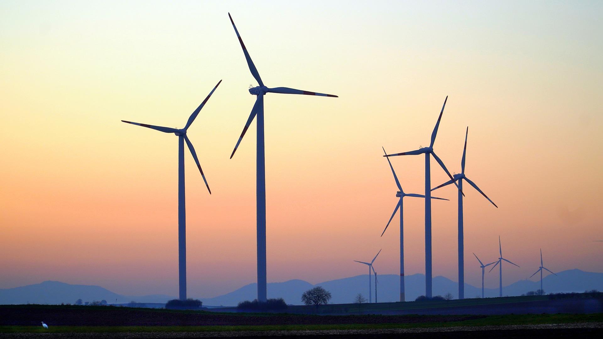 Symbolbild Windräder