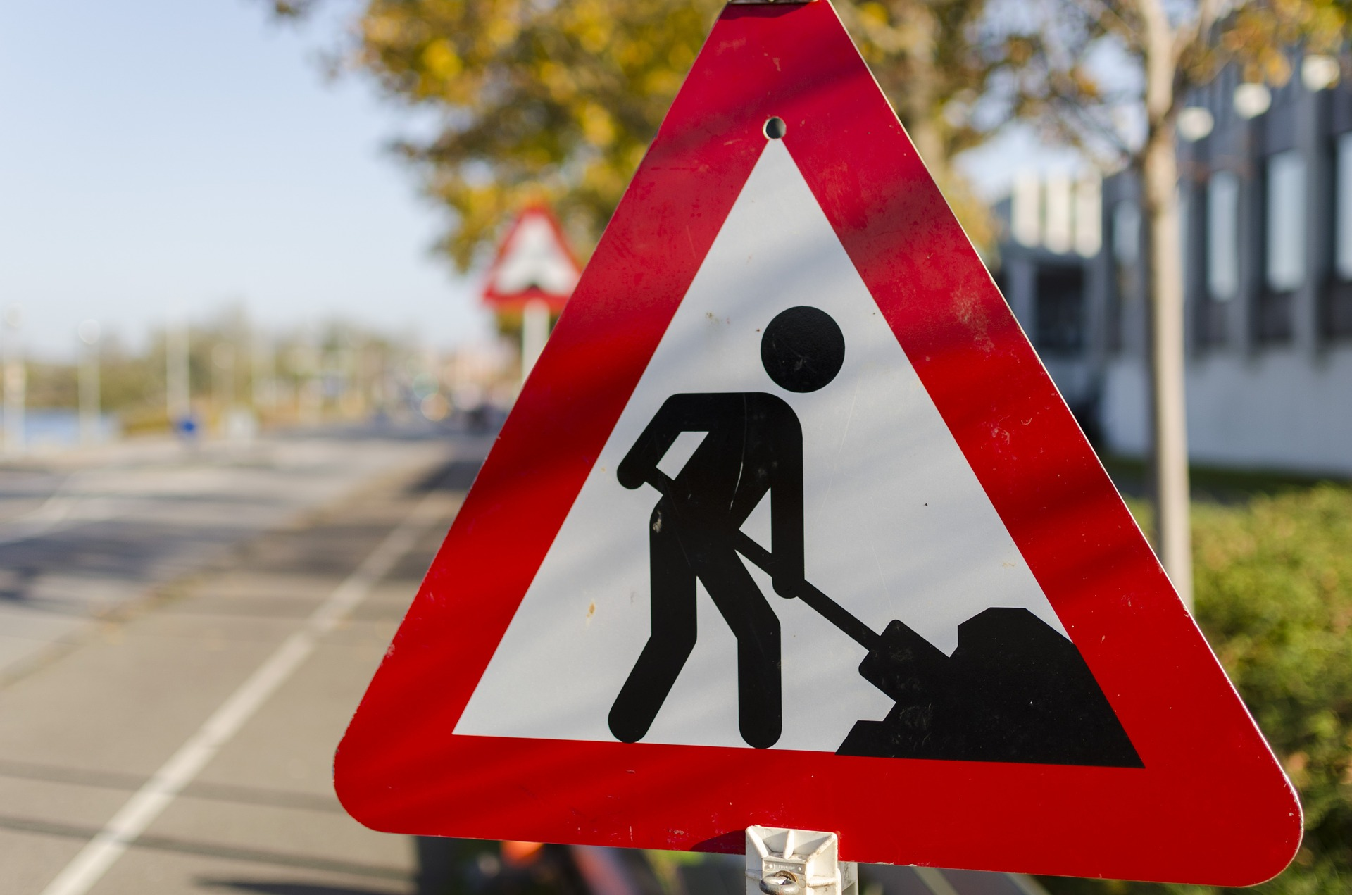 Symbolbild Straßenbau